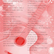BACKCOVER GUITAR CHRISTMAS SONGBOOK BY JOAN CAPAFONS
