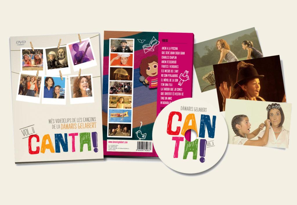CANTA vol. II, el nou DVD de la Dàmaris Gelabert