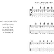 GUITAR CHRISTMAS SONGBOOK BY JOAN CAPAFONS