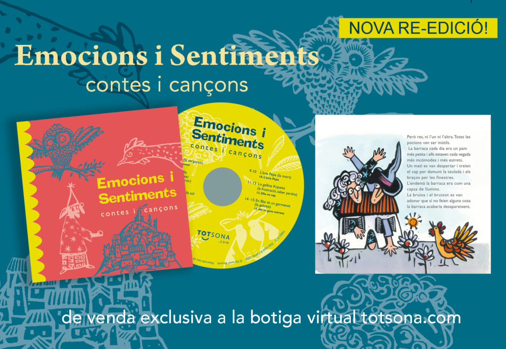 Emocions i sentiments: nova re-edició!
