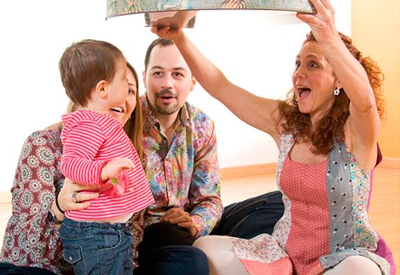 Tallers en família amb la Dàmaris