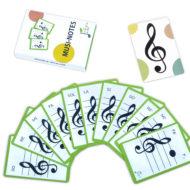 baralla cartes musi notes